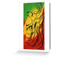 Lion of Judah Greeting Card