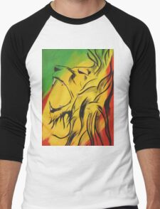 Lion of Judah Men's Baseball ¾ T-Shirt