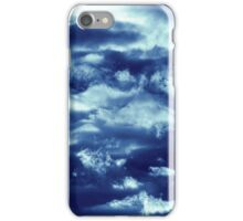 Mr Clouds (blue edition) iPhone Case/Skin