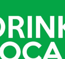 Georgia Drink Local GA Green Sticker