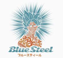 Blue Steel (Super) Kids Tee