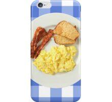 Breakfast Foods iPhone Case/Skin