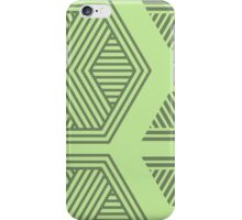 Halftone Pattern Green iPhone Case/Skin