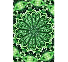 Mystery Green Puzzle Photographic Print