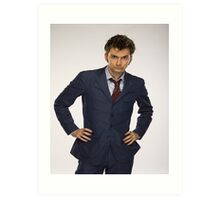 The Tenth Doctor - 5 Art Print