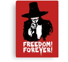 Freedom Forever Canvas Print