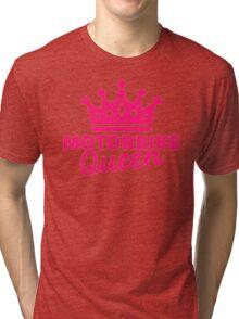Motorbike queen Tri-blend T-Shirt