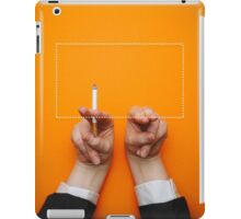 Minimalist Tarantino- Pulp Fiction Clean iPad Case/Skin