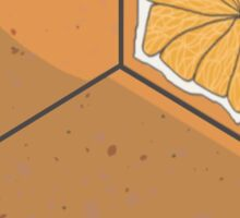Fruit Dice, D6 orange variant Sticker