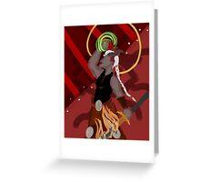 Budgie Adaar: Strength Greeting Card