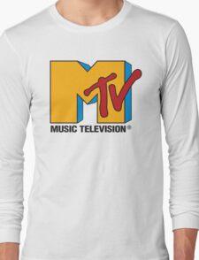 MTV 90's Logo Long Sleeve T-Shirt