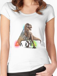 Ark T-rex Women's Fitted Scoop T-Shirt