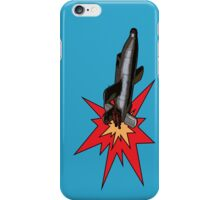Rocket propelled pop art! iPhone Case/Skin