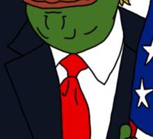 Pepe Trump Sticker