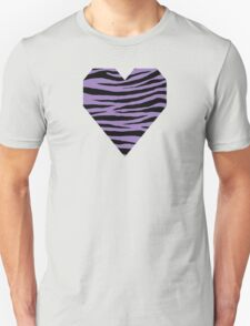 0557 Purple Mountain Majesty or Lavender Purple Tiger Unisex T-Shirt