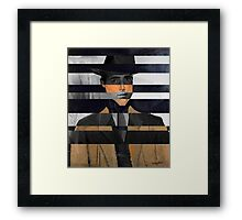 "Modigliani's ""Portrait of a Man with Hat"" & Humprey Framed Print"