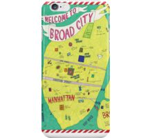 Broad City Map iPhone Case/Skin