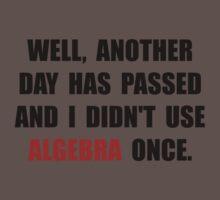 Algebra Once Baby Tee
