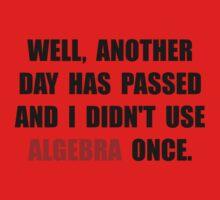 Algebra Once One Piece - Short Sleeve