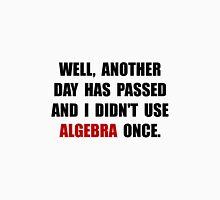 Algebra Once Unisex T-Shirt