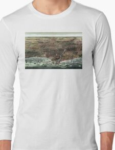 The city of Chicago-1892 Long Sleeve T-Shirt