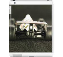 Car racing on high speed iPad Case/Skin