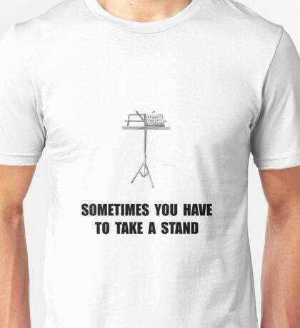 Music Stand Unisex T-Shirt