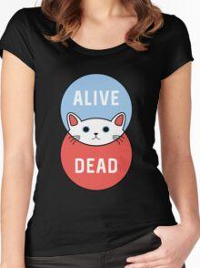 Schrodinger's Cat! Women's Fitted Scoop T-Shirt