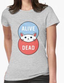 Schrodinger's Cat! Womens Fitted T-Shirt