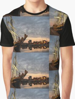 Belem. Cherbourg, Normandy, France. Graphic T-Shirt
