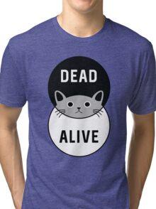 Schrodinger's Cat: Dead or Alive! Tri-blend T-Shirt