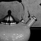 B&W Kettle - still life   ^ by ctheworld