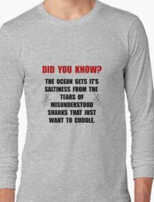 Sharks Cuddle Long Sleeve T-Shirt