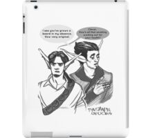Phoenix&Razer Throwing Shade iPad Case/Skin