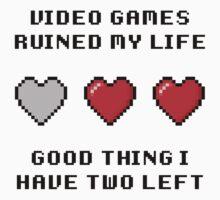 Video Game Life Kids Tee