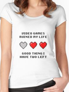 Video Game Life Women's Fitted Scoop T-Shirt