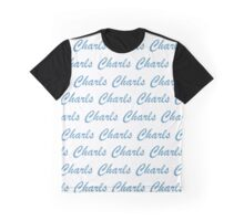 He is Charls, I am Charls Graphic T-Shirt