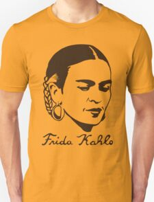 Frida Kahlo T-shirt w/ Real Signature Digitized T-Shirt