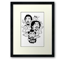 FLATBUSH ZOMBIES [4K] Framed Print
