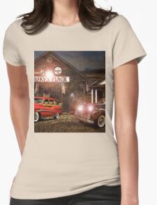 Pesky's Place Womens Fitted T-Shirt