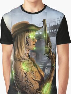 Steampunk Painting 008 Graphic T-Shirt