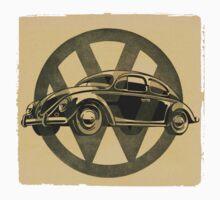 VW Bug One Piece - Short Sleeve