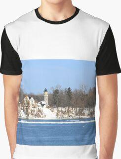 Old Niagara Fort USA - Lighting House Graphic T-Shirt