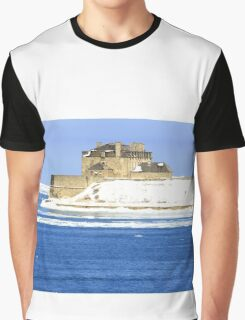 Main Building of Niagara Fort USA. Graphic T-Shirt