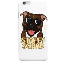 STAFFY SQUAD (brindle) iPhone Case/Skin