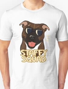 STAFFY SQUAD (brindle) Unisex T-Shirt