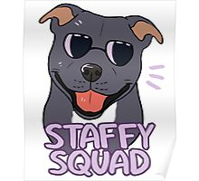 STAFFY SQUAD (blue) Poster