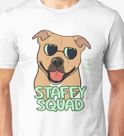 STAFFY SQUAD (red) Unisex T-Shirt