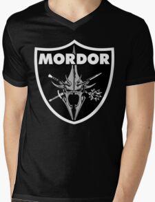Mordor Badge Mens V-Neck T-Shirt