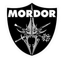 Mordor Badge Photographic Print